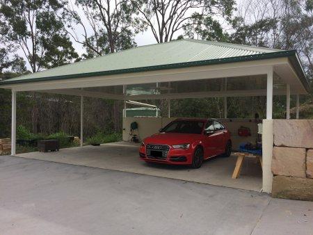 carport ceiling paneling