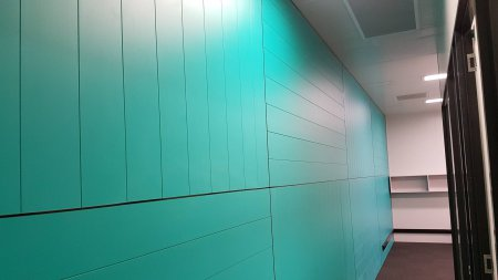 feature wall paneling