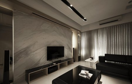 marble finish feature wall panel