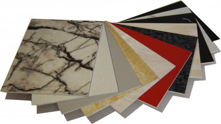 Solid Crystal PVC sheets Range